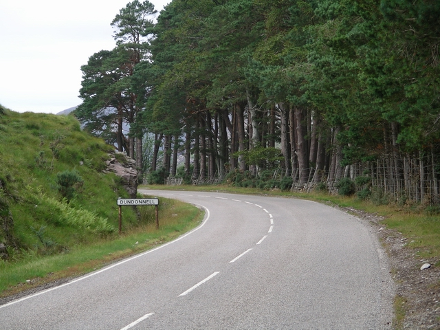 Entering Dundonnell