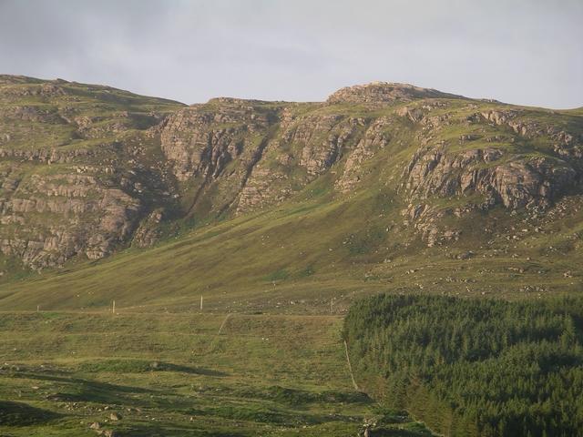 Crags, Beinn nam Ban