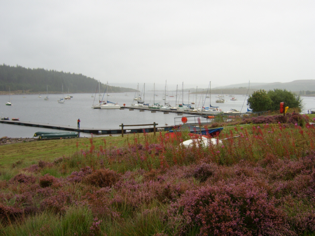 The jetty at Whickhope
