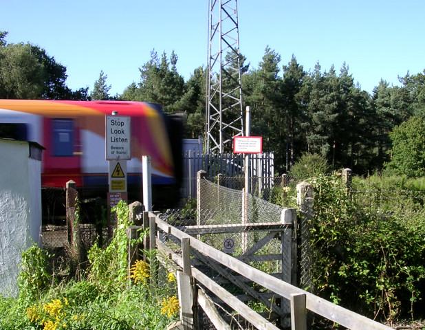 Stop Look Listen - Beware of trains