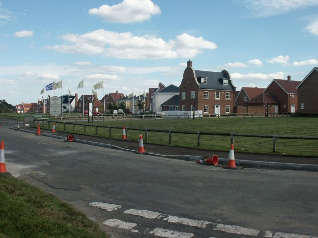 New housing, Mulbarton