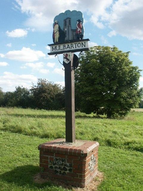 Village sign, Mulbarton