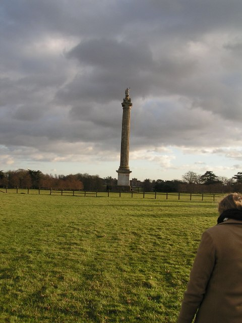 Column of Victory, Blenheim Estate