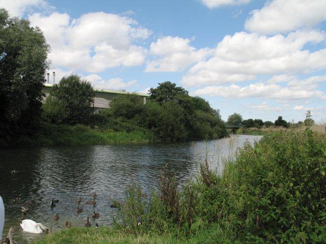 River Avon at Melksham