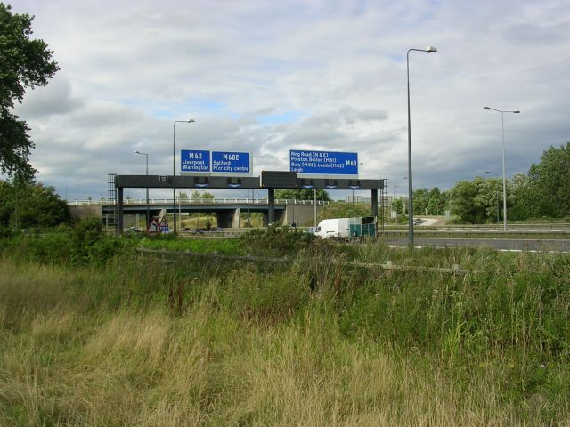 Eccles Interchange, J12 , M60