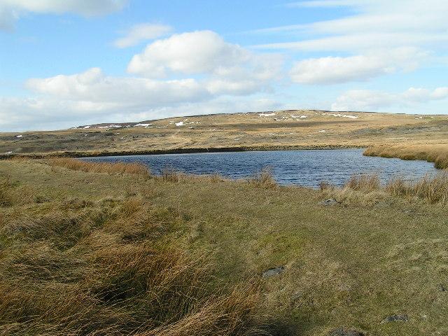 Reservoir, Grassington Moor