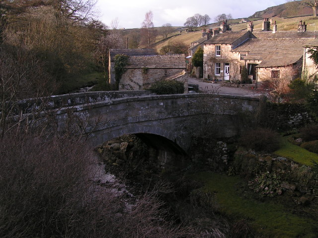The bridge over Hebden Beck