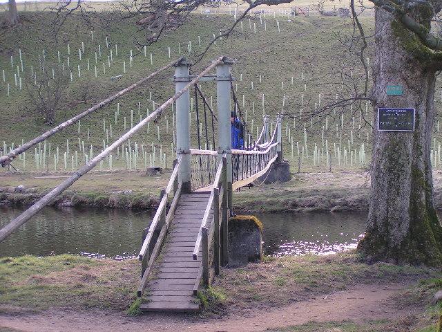 Hebden Suspension Bridge