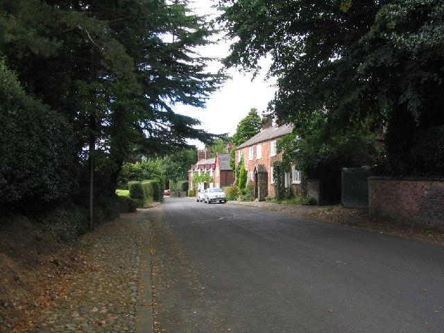 Rostherne village