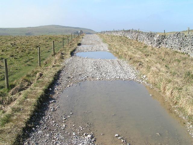 Track to Eldon Hill
