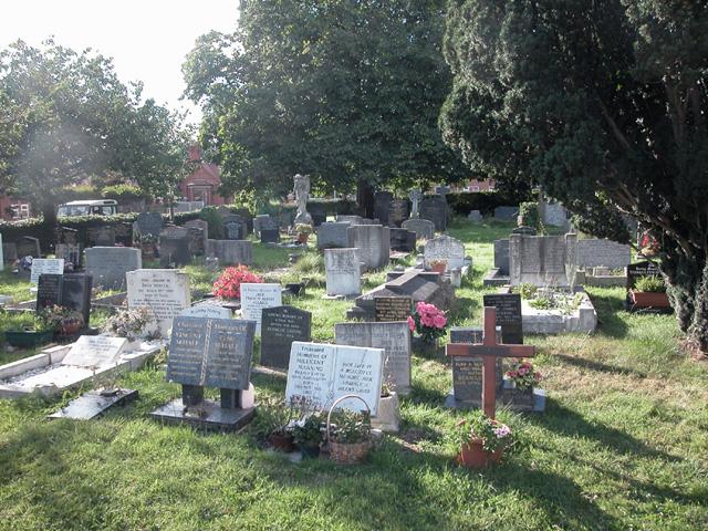 Saughall graveyard