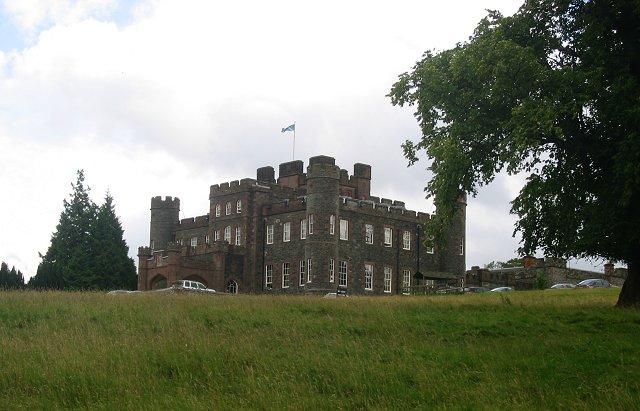 Stobo Castle.