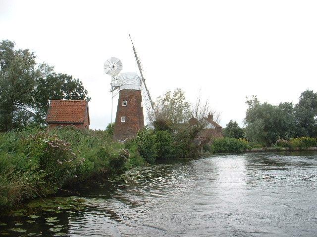Hunsett Drainage Mill