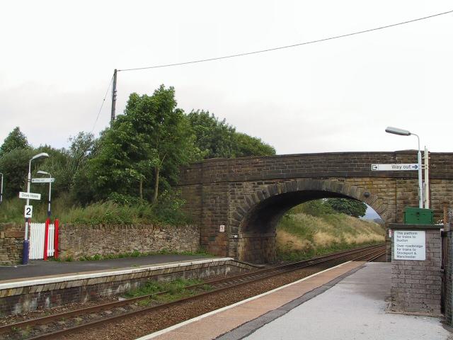 Doveholes Railway Station