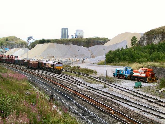 Doveholes Dale Railhead
