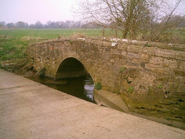Packhorse Bridge Over Clow Beck
