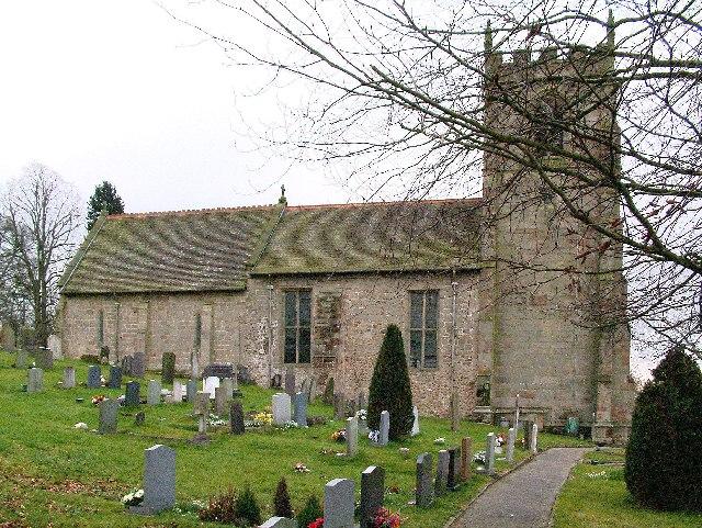 St Andrews Church at Cubley