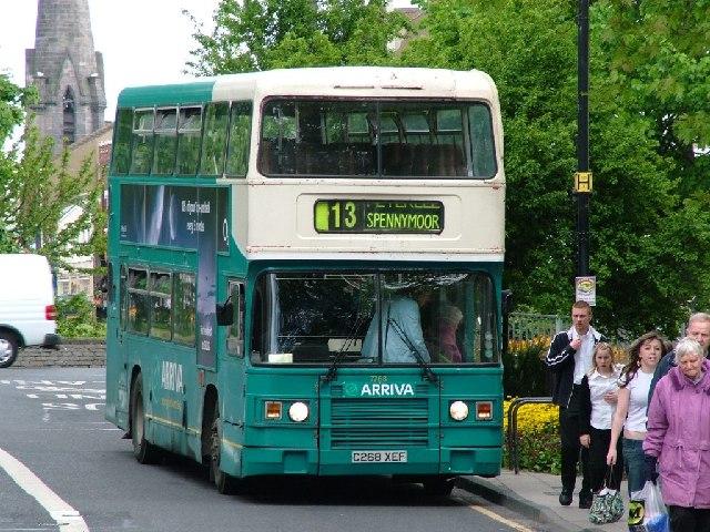 Arriva Leyland Olympian Bus 7268