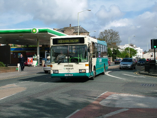 Arriva Mercedes Bus, High Northgate, Darlington
