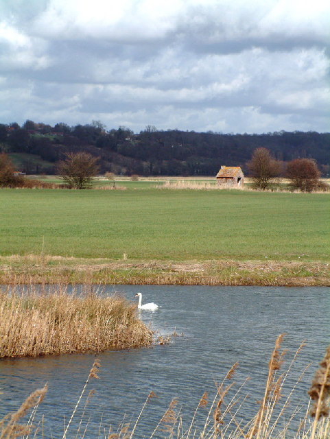 shepherd's hut on Rother Levels