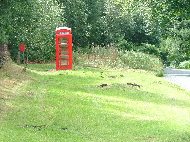 Telephone Box on the Road to Bransdale