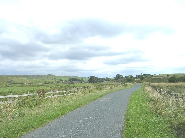 Road from Otterburn to Bell Busk