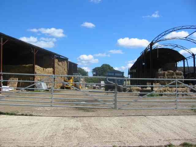 Farmyard at Copt Hall Farm