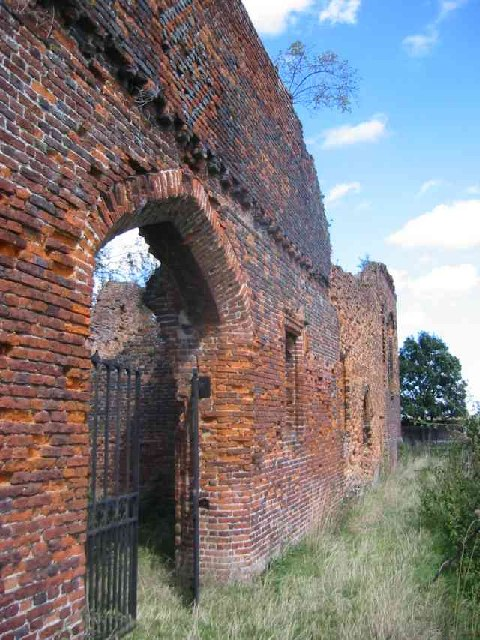 Someries Castle ruins