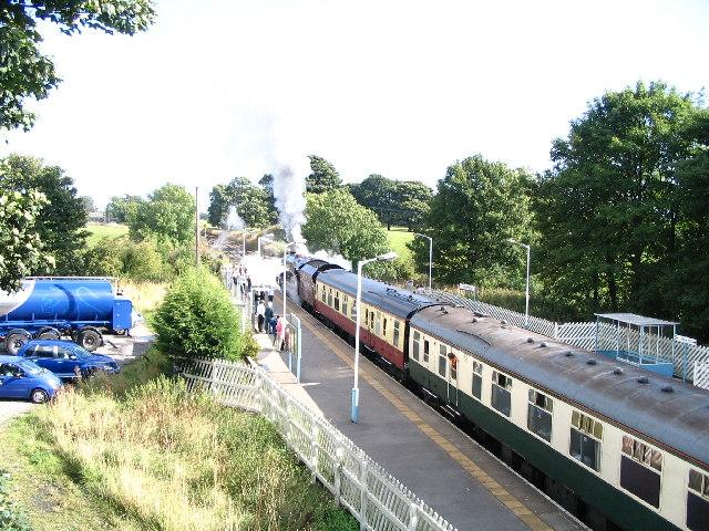 Long Preston Station