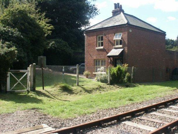 Level crossing cottage, Wymondham