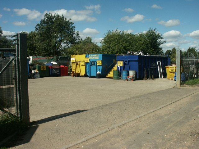 Recycling site, Wymondham