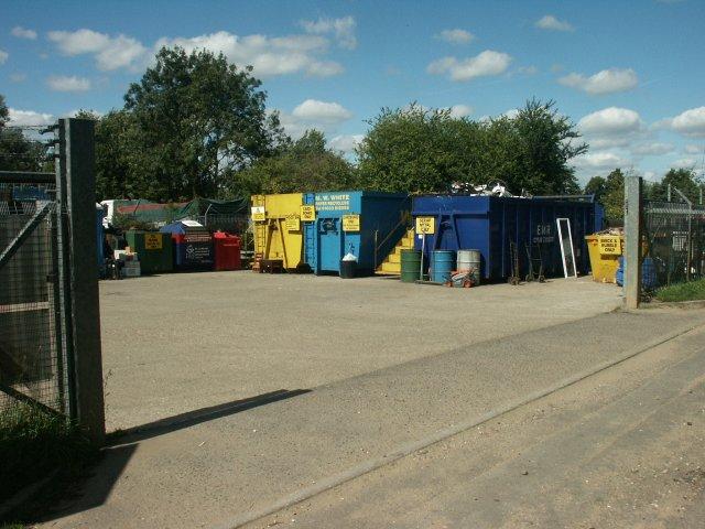 Recycling site, Wymondham