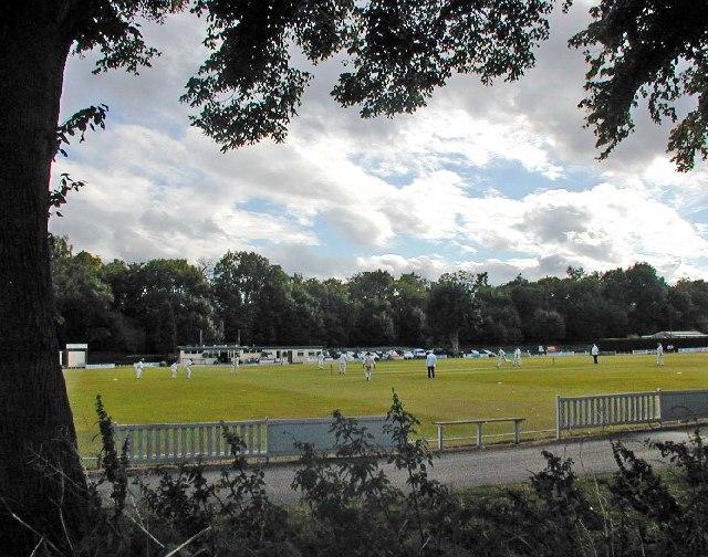 Cricket match at Shifnal C C
