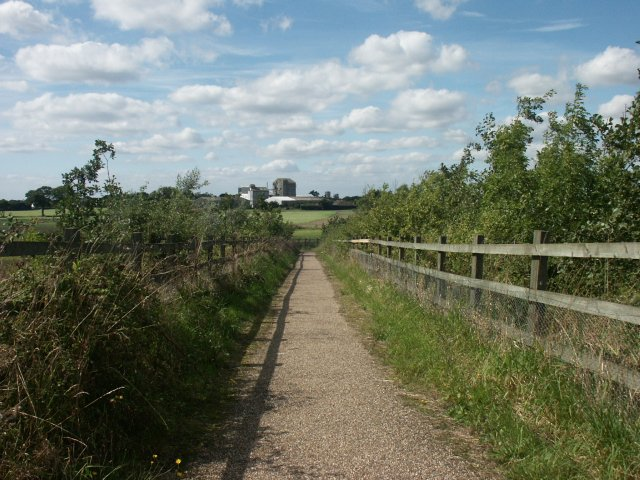Footpath, Rightup Lane, Wymondham