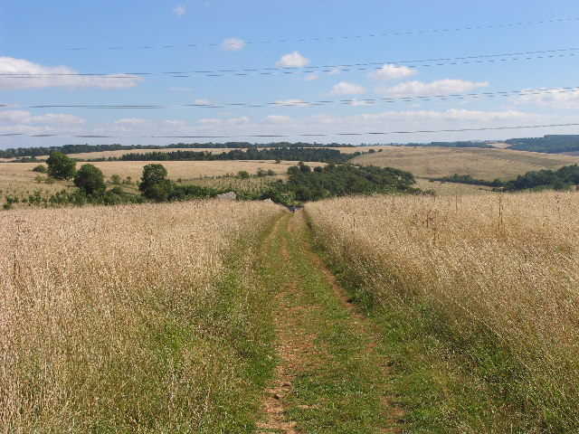 Cotswold Way east of Cleeve Common