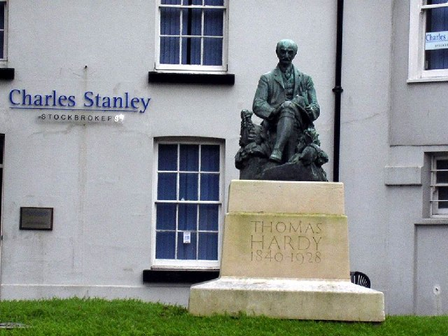 Statue of Thomas Hardy, Dorchester