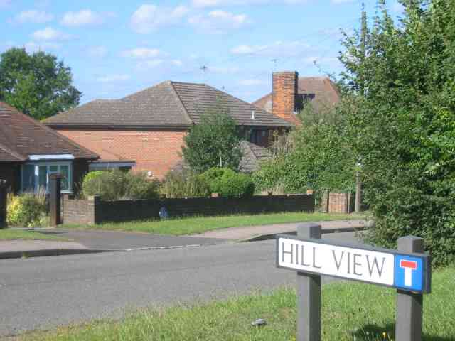Road off Horn Hill  Whitwell