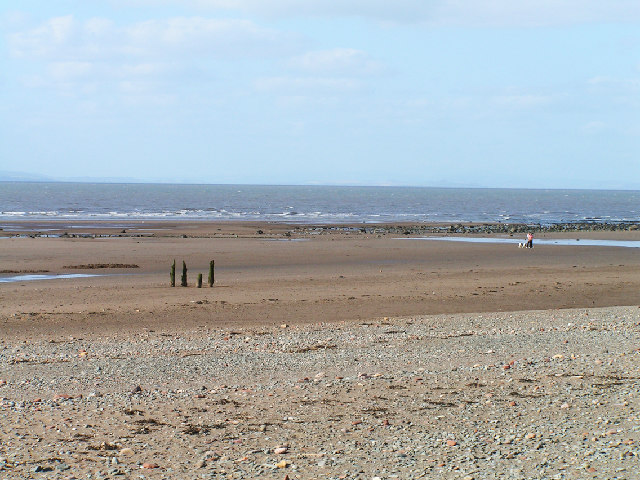 Beach near Crosscanonby
