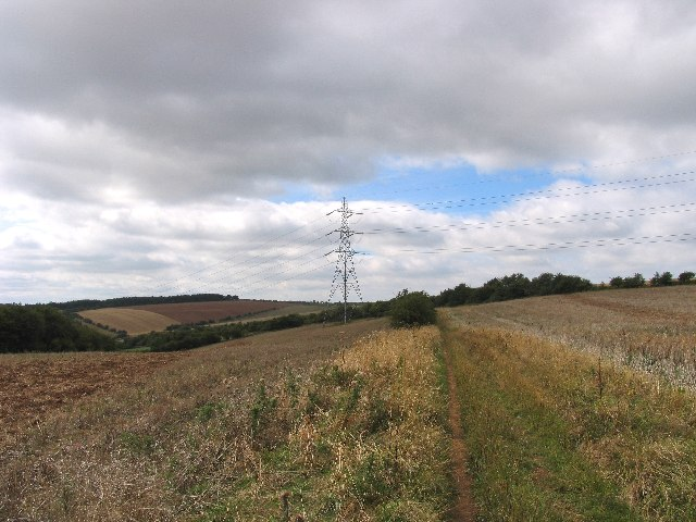 Pylons on West Down