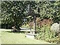 TG1504 : Village sign, Hethersett by Katy Walters