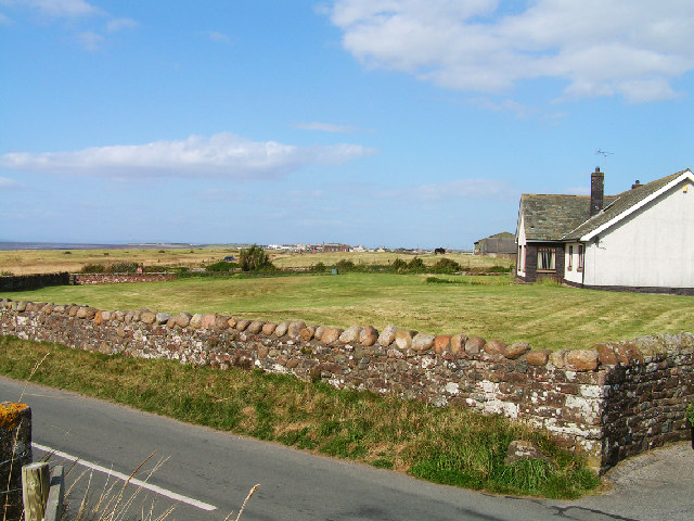 View towards Allonby including Mealo House