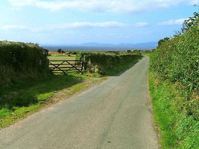 Minor road near Allerby