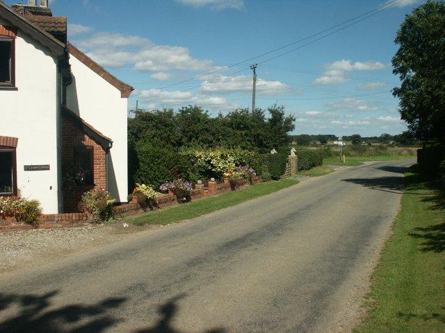 Road junction, Silfield