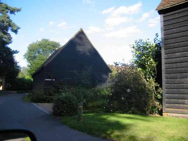A barn at Mackerye End