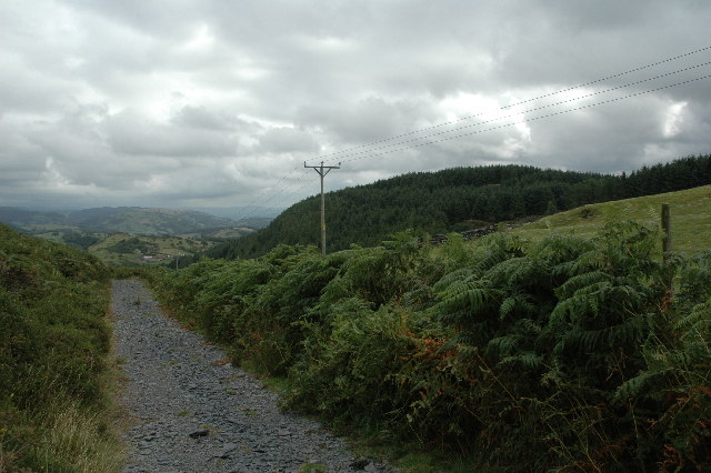 Part of the Panorama Walk, Wales