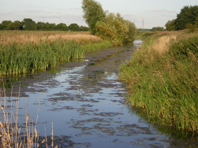 Ox Pasture Drain, where 3 parishes meet