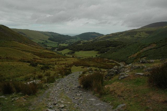 Track to Tyddyn-y-Briddell