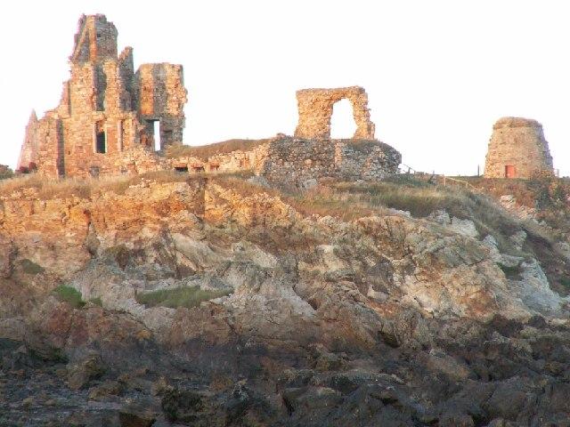 St Monans castle ruins