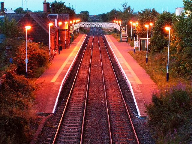 Railway Station, Aspatria