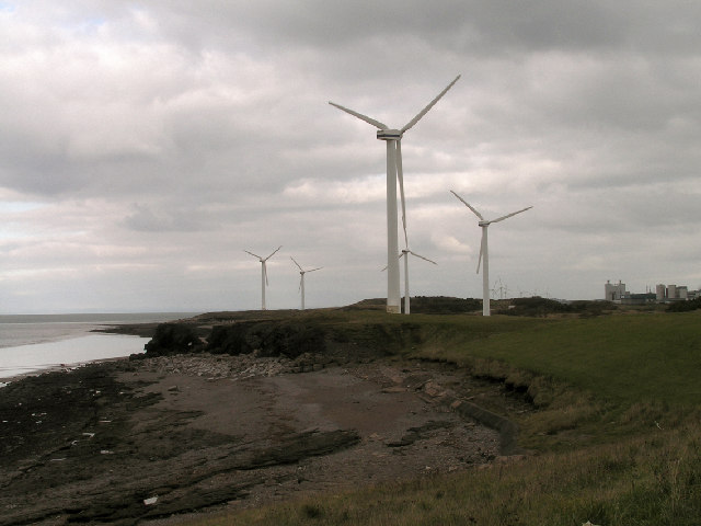 Windfarm at Workington Northside